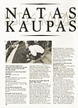 Natas Kaupas. Poweredge Magazine. April/May 1988.