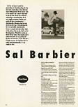 Sal Barbier. Poweredge. June 1991.