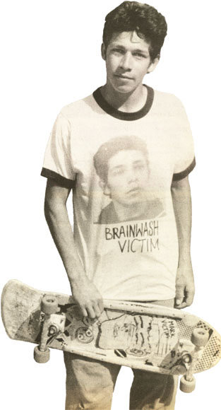 Interview: Mark Gonzales. Thrasher. September 1986. Photo: Morizen Foche.