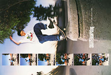 Willy Santos. Transworld Skateboarding. June 1992.